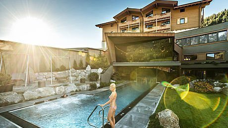 Therme Leogang im Herbst