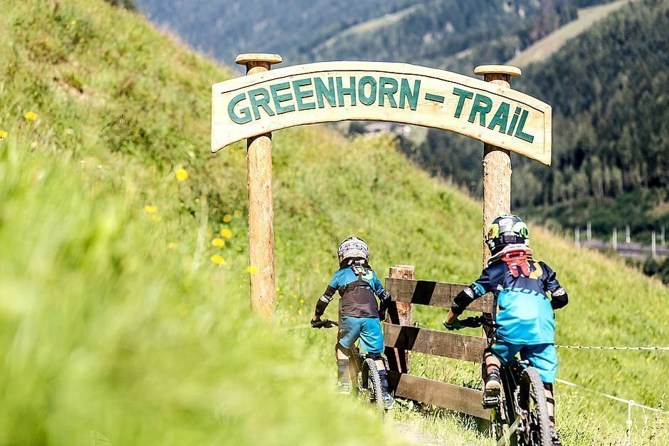 Freeride-Strecken Bikeurlaub in Leogang